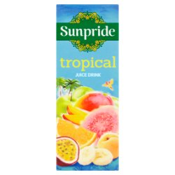 Sunpride Tropical Juice Drink 250ml