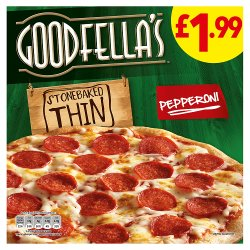 Goodfellas Thin Pepperoni PM £1.99