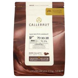 Callebaut Finest Belgian Chocolate 70% Extra Bitter Callets 2.5kg