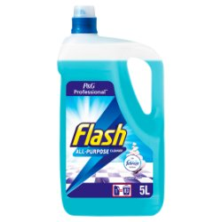 Flash Professional All Purpose Liquid Cleaner Cotton Fresh 5L