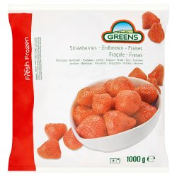 Greens Fresh Frozen Strawberries 1000g