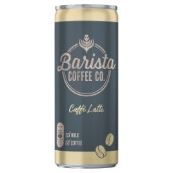 Barista Coffee Co. Caffè Latte 250ml