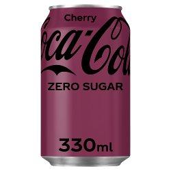 Coca-Cola Zero Sugar Cherry 330ml