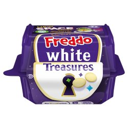 Cadbury Freddo White Treasures Chocolate with Toy 14.4g