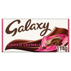 GALAXY® Cookie Crumble 114g