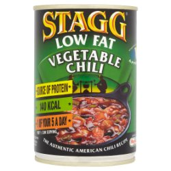 Stagg Low Fat Vegetable Chili Medium 400g
