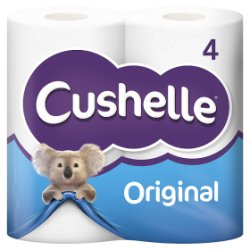 Cushelle Toilet Roll White