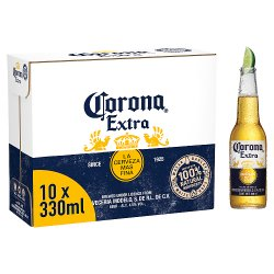 Corona Lager Beer Bottles 10 x 330ml
