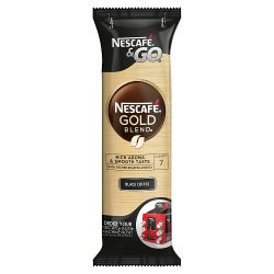 NESCAFÉ Gold Blend Instant Black Coffee, Sleeve of 8 Cups x 2.4g (19.2g)