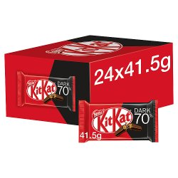 KITKAT 4 Finger 70% Dark Chocolate Bar 41.5g