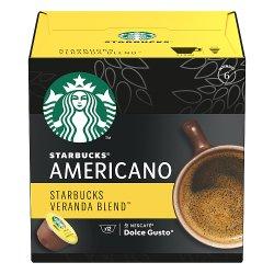 STARBUCKS by NESCAFÉ DOLCE GUSTO Veranda Blend Blonde Roast Americano Coffee Pods, Box of 12, 102g