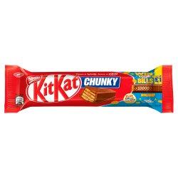 Kit Kat Chunky Milk Chocolate Bar 40g 2 for £1