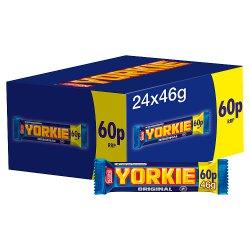 Yorkie Milk Chocolate Bar 46g PMP 60p