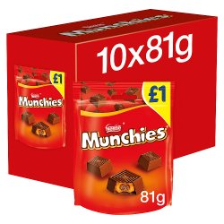 Munchies Milk Chocolate & Caramel Sharing Pouch 81g PMP £1