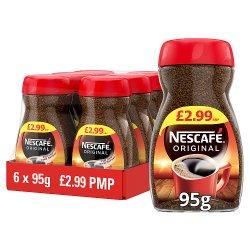 Nescafe Original Instant Coffee 6 x 95g £2.99 PMP