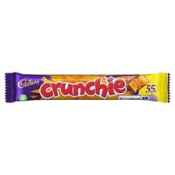 Cadbury Crunchie 55p Chocolate Bar 40g