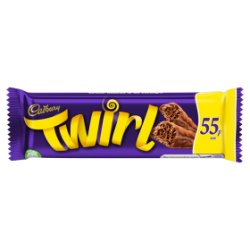 Cadbury Twirl 55p Chocolate Bar 43g
