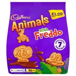 Cadbury Animals Mini Biscuits £1.29 7 Pack 139.3g