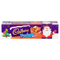 Cadbury Fudge Minis Chocolate Tube 72g