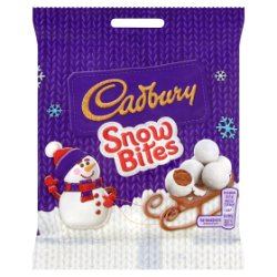 Cadbury Snow Bites Chocolate Bag 90g