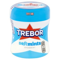 Trebor Softmints Spearmint Mints Bottle 100g