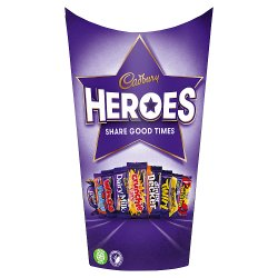 Cadbury Heroes Chocolate Carton 290g
