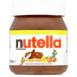 Nutella Hazelnut and Cocoa Spread PMP Jar 400g