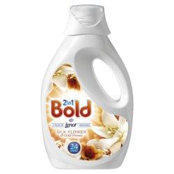 Bold 2in1 Washing Liquid Silk Flower& Freesia 1.2L 24 Washes