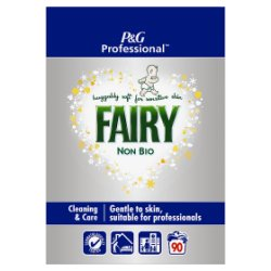 Fairy Non-Bio Powder Detergent 5.85Kg 90 Washes