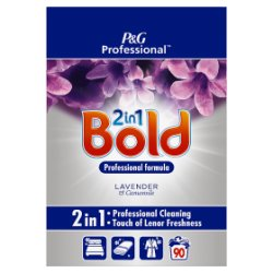 Bold 2in1 Professional Powder Detergent Lavender & Camomile 6kg 90 Washes