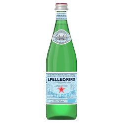 S.Pellegrino Natural Mineral Sparkling Water 75cl Glass