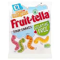 Fruittella Sour Snakes 100g