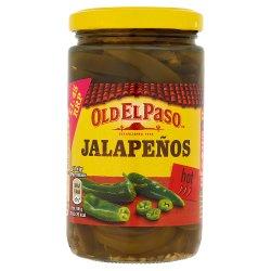 Old El Paso Sliced Green Jalapenos 215g