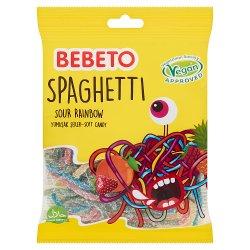 Bebeto Sour Rainbow Spaghetti 70g