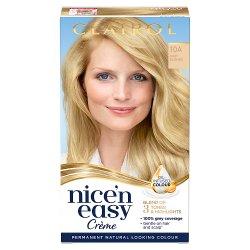 Clairol Nice'n Easy Hair Dye, 10A Baby Blonde