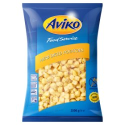 Aviko Food Service Herb Diced Potatoes 2500g