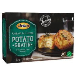 Aviko 2 Cream & Cheese Potato Gratin 150g