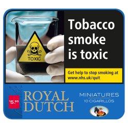 Royal Dutch Miniature Blue 10 Cigarillos