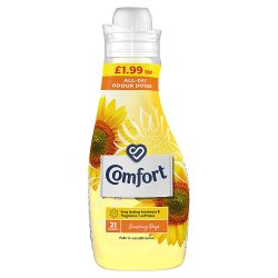 Comfort Sunshiny days Fabric Conditioner 21 Wash 750ml