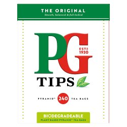 PG tips Original 240 Tea Bags