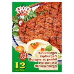 Zaad Chicken Burger 12 x 65g (780g)