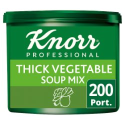 Knorr Professional Thick Vegetable Soup 200 Port
