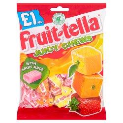 Fruittella Juicy Chews Bag 135g