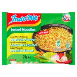 Indo Mie Instant Noodles Soup Vegetable Flavour with Lime 75g