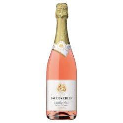 Jacob's Creek Sparkling Rosé Wine 75cl