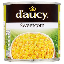 D'Aucy Sweetcorn Low in Salt 340g