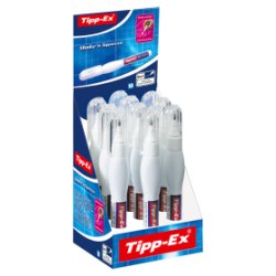 Tipp-Ex Shake'n Squeeze 10 Precise Correction Pens White 8ml