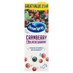 Ocean Spray Cranberry & Blackcurrant 1 Litre
