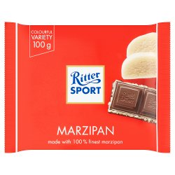 Ritter Sport Colourful Variety Marzipan 100g