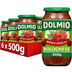 DOLMIO® Sauce for Bolognese Spicy Chilli 500g